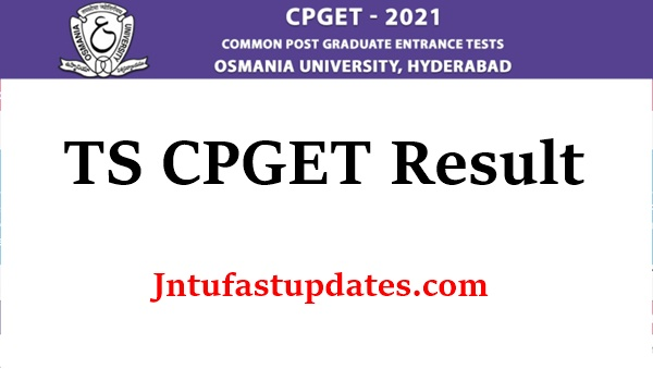 TS CPGET Result 2021