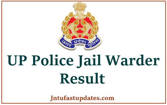 UP Police Jail Warder Result 2021