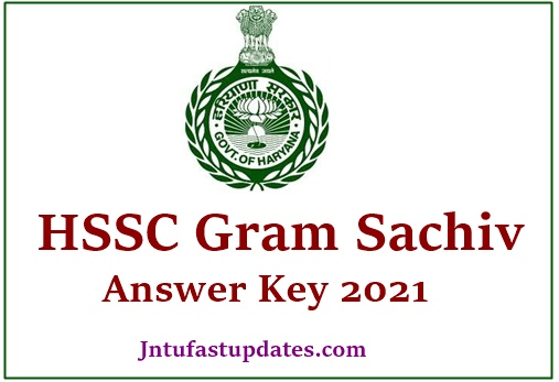 HSSC Gram Sachiv Answer Key 2021