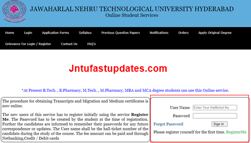 jntuh-student-services