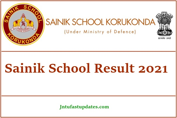 Sainik School Result 2021