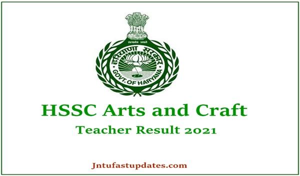 HSSC Art and Craft Teacher Result 2021