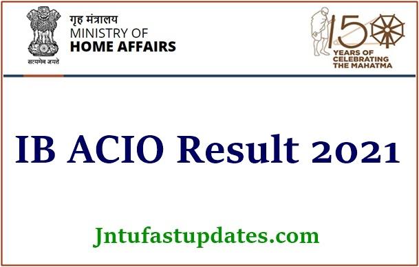 IB ACIO Result 2021