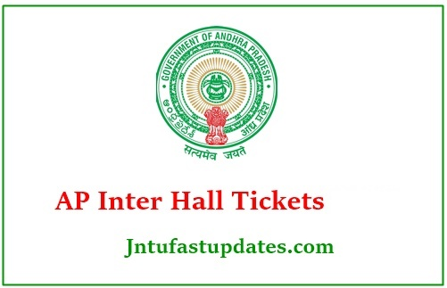 AP Inter Hall Tickets 2021