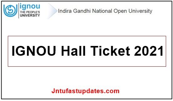 IGNOU-Hall-Ticket-2021