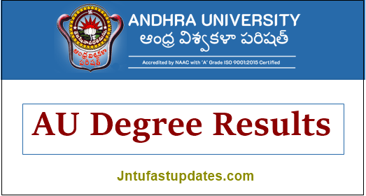 AU Degree Results 2021