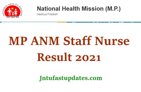 NHM MP ANM Result 2021