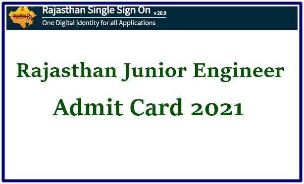 RSMSSB JEN Admit Card 2021