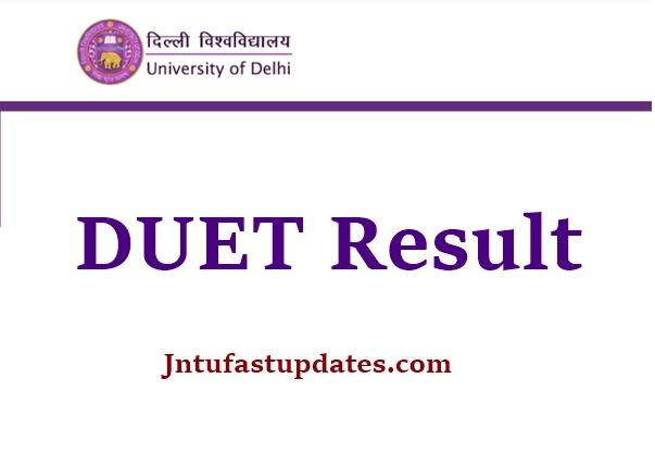 DUET Result 2021